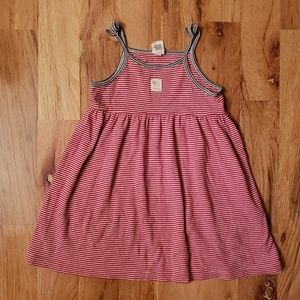 💥6/$25 Baby Gap Red Whit and Blue Knit Dress